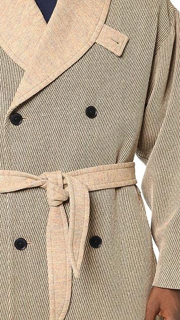 DDUGOFF Robe Overcoat