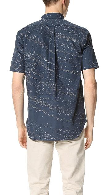 DDUGOFF Asteroid Print Short Sleeve Shirt