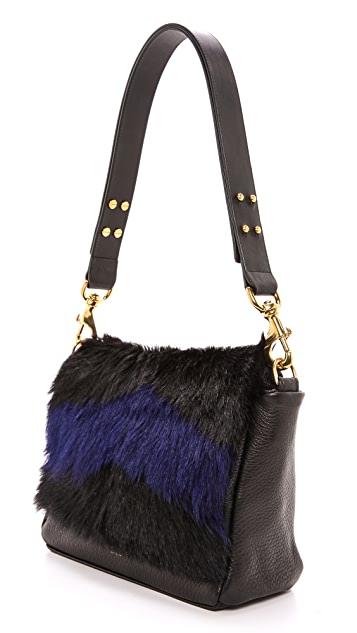 Deadly Ponies Mr. Nebula Fur Messenger Bag