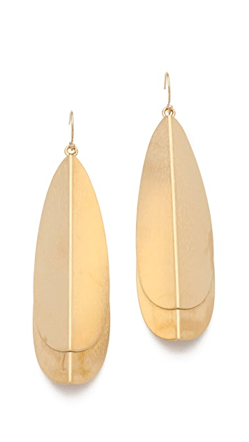 Dean Davidson Layered Drop Earrings