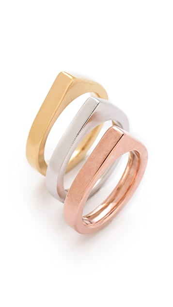 Dean Davidson Stacked Rings