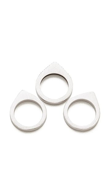 Dean Davidson Stacked Ring Set