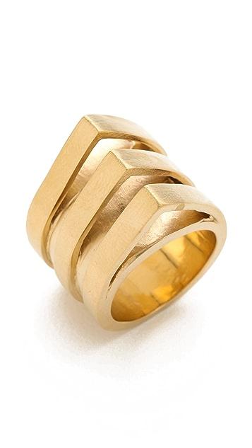 Dean Davidson 3 Band Slice Ring