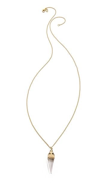 Dean Davidson Ingot Stone Pendant Necklace