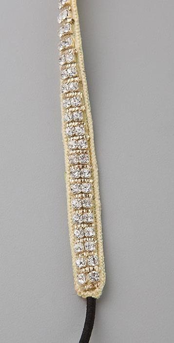 Deepa Gurnani Crystal Bead Headband