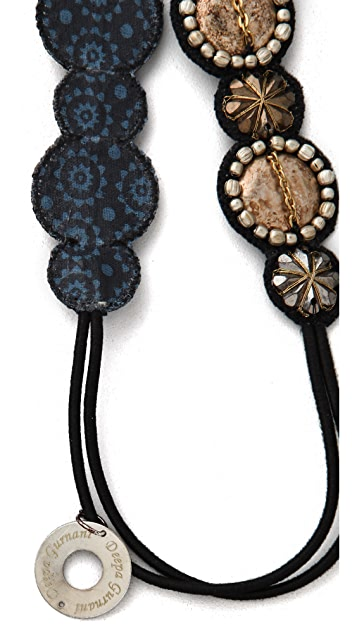 Deepa Gurnani Medallion Headband