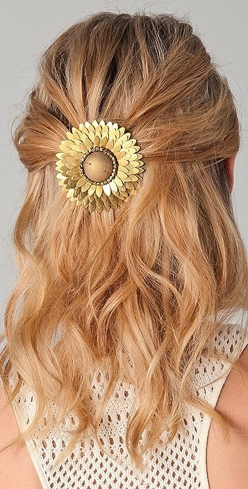 Deepa Gurnani Sunburst Hair Clip