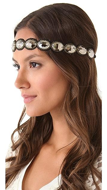 Deepa Gurnani Crystal Station Headband