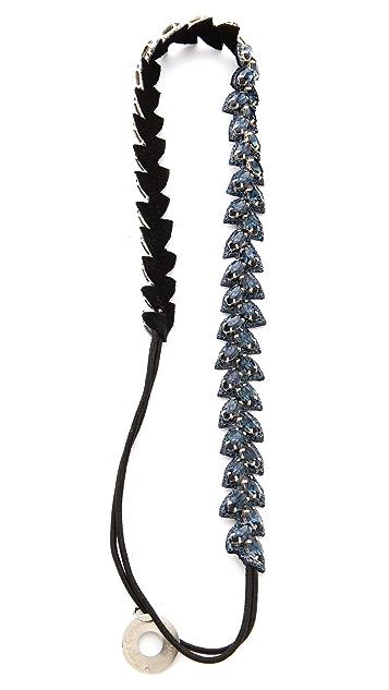 Deepa Gurnani Crystal Wreath Headband