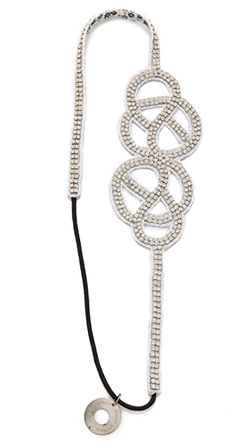 Deepa Gurnani Side Knot Headband