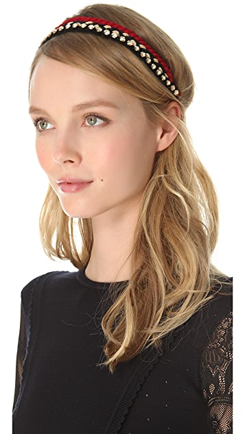 Deepa Gurnani Braided Headband