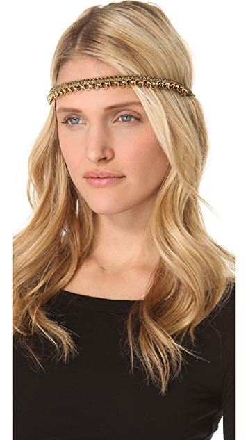 Deepa Gurnani Woven Headband