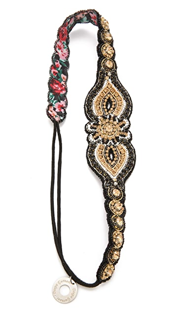 Deepa Gurnani Bright Embellished Headband