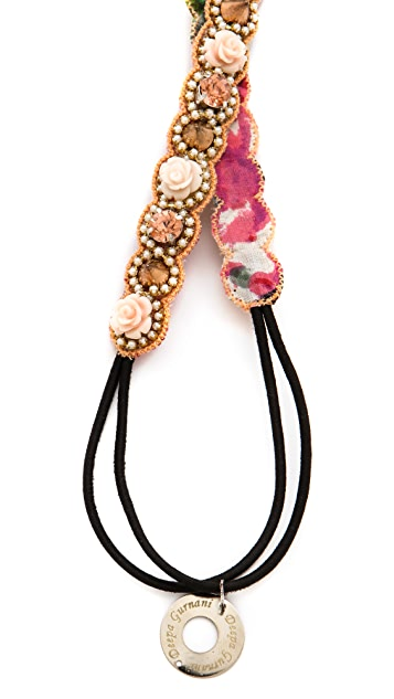 Deepa Gurnani Rose & Spike Headband