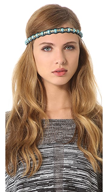 Deepa Gurnani Raised Headband