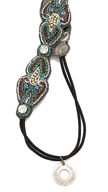 Deepa Gurnani Beaded Embellished Headband