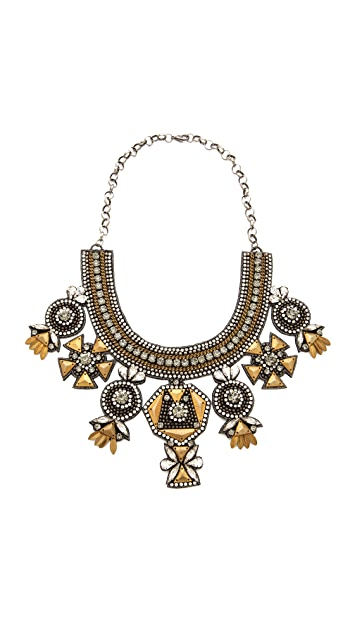 Deepa Gurnani Multi Drop Necklace