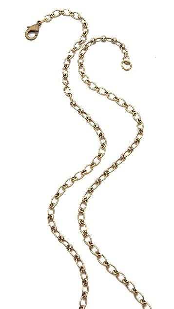 Deepa Gurnani Giraffe Pendant Necklace