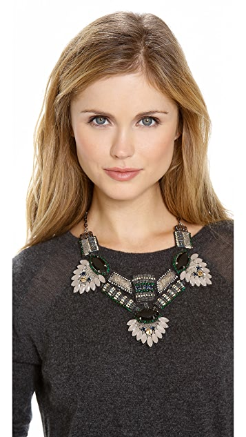 Deepa Gurnani Stone Statement Necklace