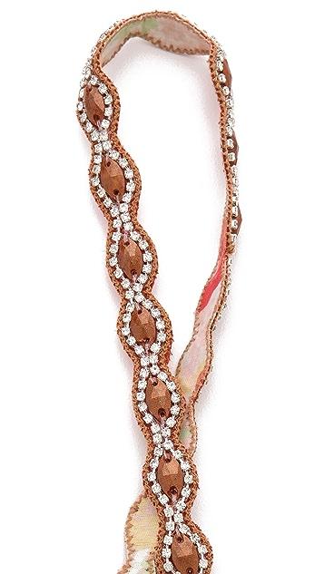 Deepa Gurnani Stone & Crystal Headband
