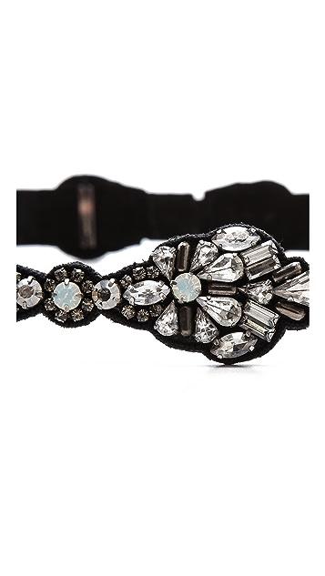 Deepa Gurnani Stone Embellished Belt