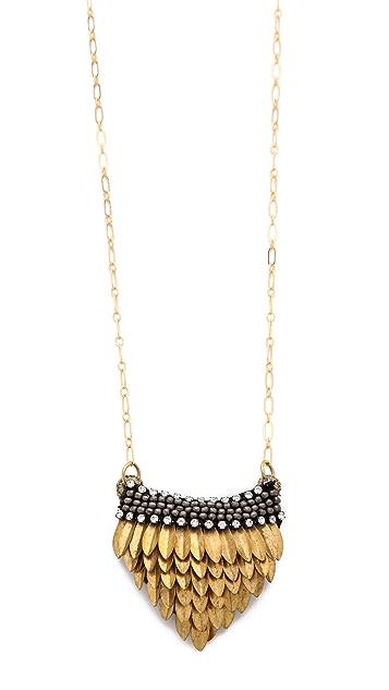 Deepa Gurnani Petal Pendant Necklace