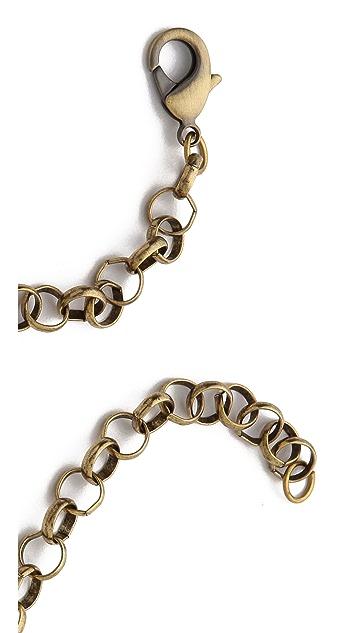 Deepa Gurnani Colorful Stone Necklace
