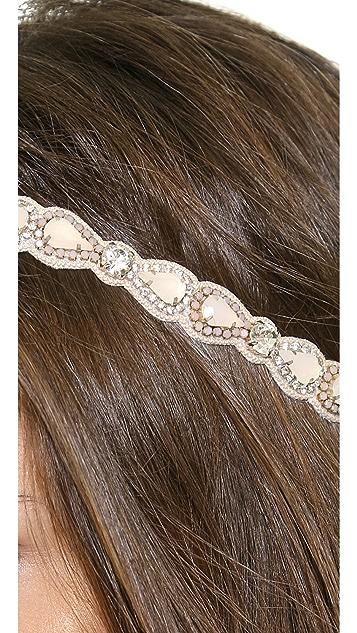 Deepa Gurnani Teadrop Link Headband