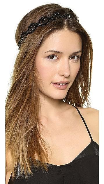 Deepa Gurnani Macrame Headband