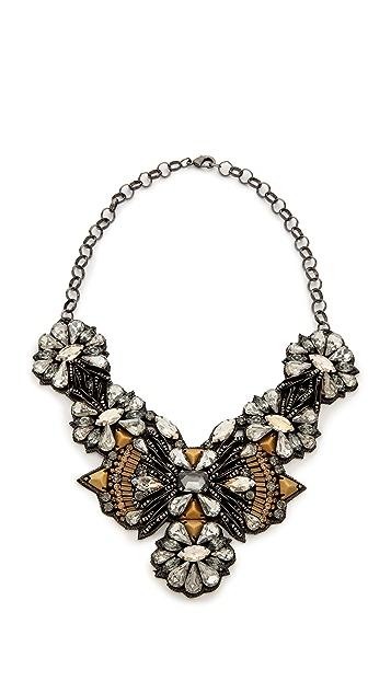 Deepa Gurnani Crystal Statement Necklace