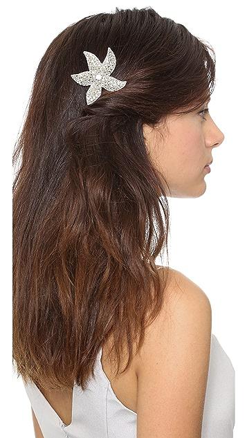 Deepa Gurnani Crystal Woven Comb