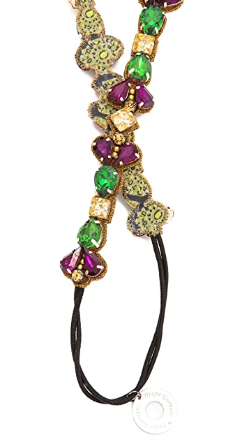 Deepa Gurnani Colorful Stone Headband