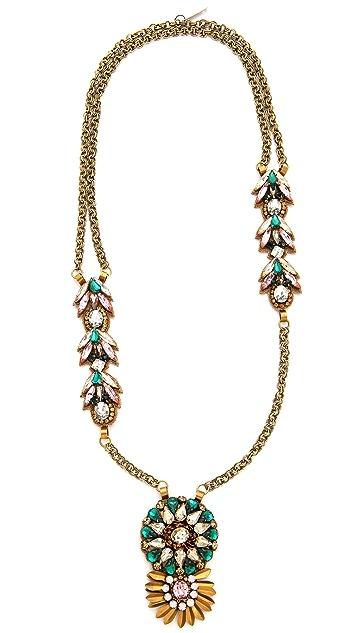 Deepa Gurnani Stone Pendant Necklace