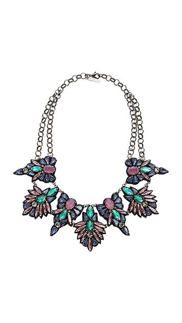 Deepa Gurnani Stone and Crystal Necklace