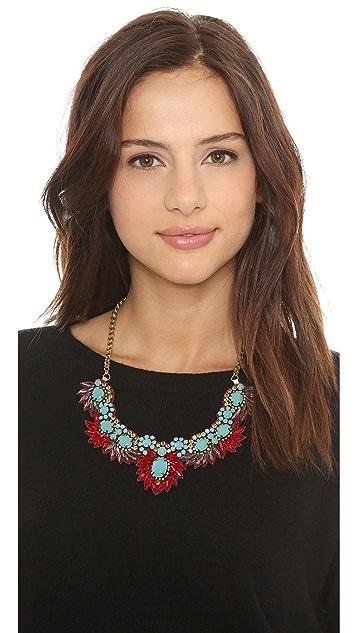 Deepa Gurnani Stone Pheonix Necklace