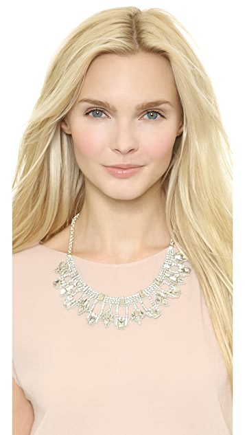 Deepa Gurnani Crystal Statement Necklace