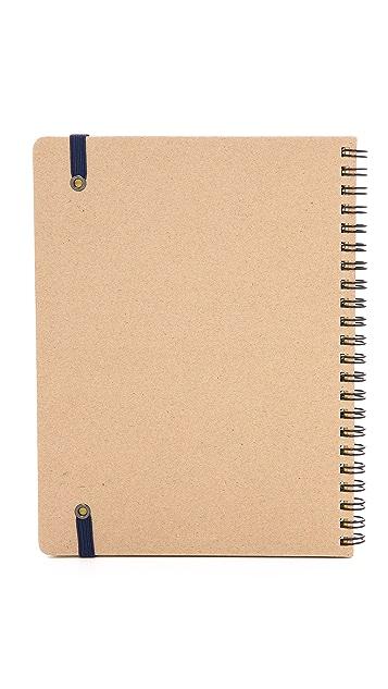 Delfonics Rollbahn A5 Spiral Notebook