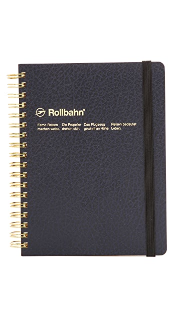Delfonics Rollbahn Texture Small Spiral Notebook