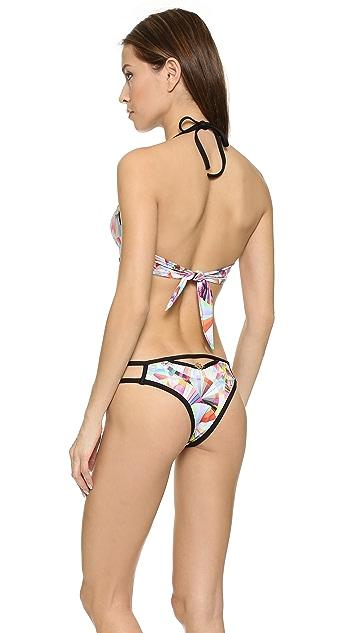 Del Mar Anika Cutout Bikini Top