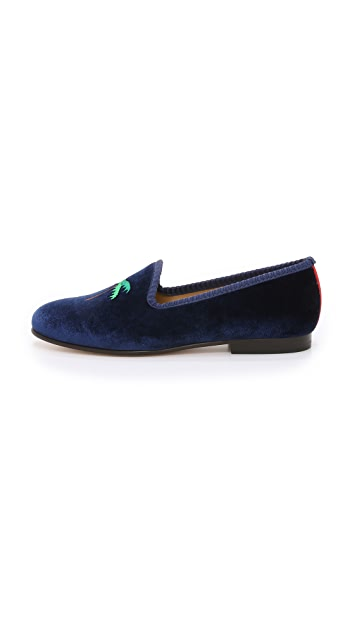 Del Toro Jetsetter Smoking Slippers