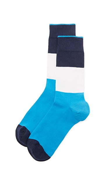 Democratique Socks Originals Block Party Socks
