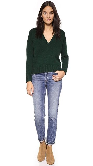DEMYLEE Amelia V Neck Sweater