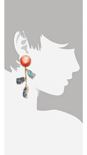 Dara Ettinger Agate Earrings