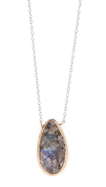 Dara Ettinger Elise Teardrop Necklace