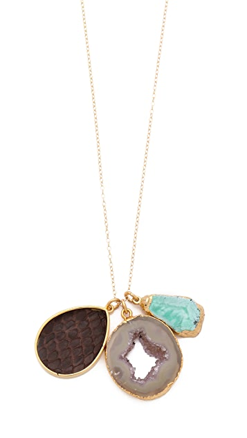 Dara Ettinger Kimmy Charm Necklace