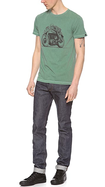 Deus Ex Machina Retro Moto #57 T-Shirt