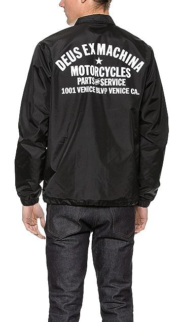 Deus Ex Machina Venice LA Coach Jacket