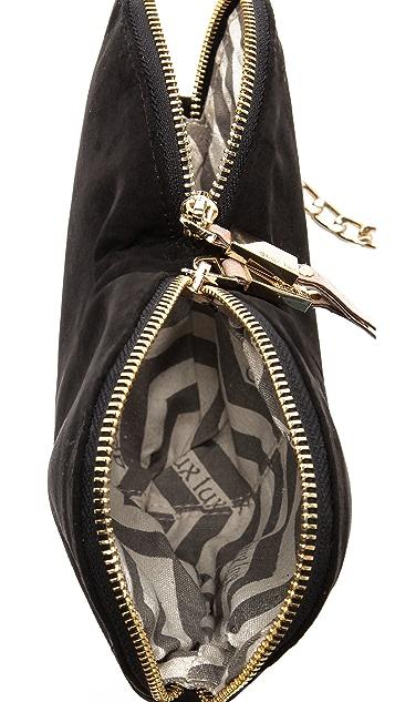 Deux Lux Celestial Heart Messenger Bag