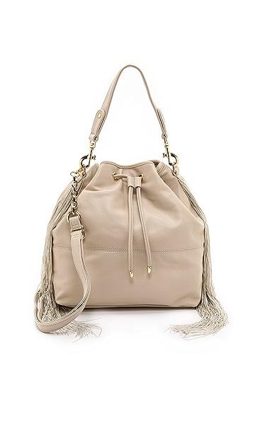 Deux Lux Maggie Fringe Bucket Bag