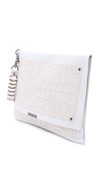 David Galan Plaster As Seen Croc Clutch